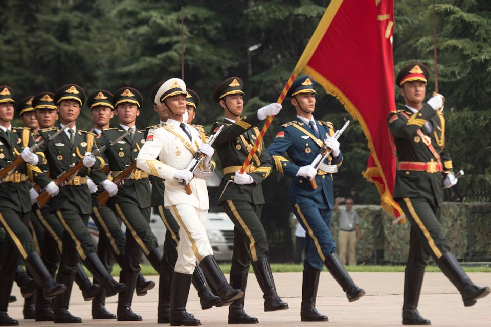 China is using government, military, economic, diplomatic and information levers to change the well-tested and beneficial international order, and the United States must have a similar strategy to combat these efforts, according to a White House report. (U.S. Navy photo by Petty Officer 1st Class Dominique A. Piniero - August 15, 2017)