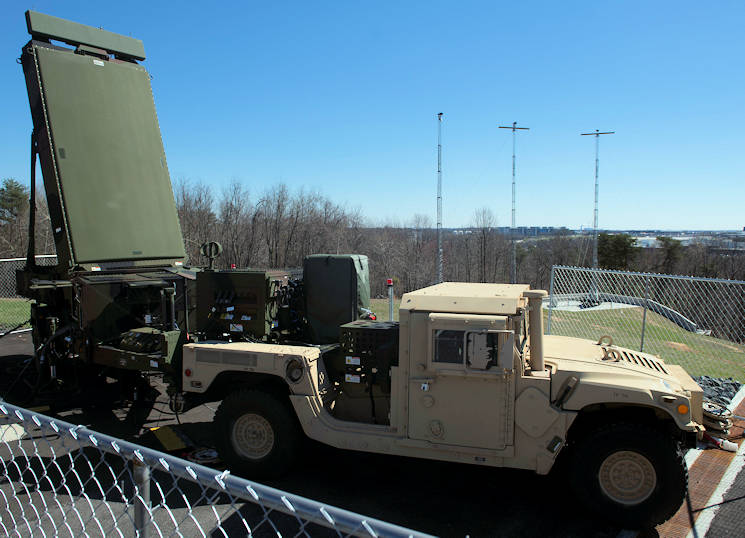 March 29, 2017 - The G/ATOR radar on display during a rollout ceremony at Stoney Run in Baltimore, Maryland. The rollout ceremony showcases the new G/ATOR radar that will replace 5 legacy systems. (U.S. Marine Corps photo by Cpl. Erasmo Cortez III)