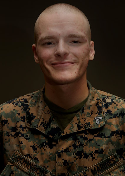 August 13, 2019 - U.S. Marine Corps Cpl. Patrick Johnson, an ammunition clerk with G-4, Combat Logistics Regiment 37, 3rd Marine Logistics Group, on Camp Kinser, Okinawa, Japan. (U.S. Marine Corps photo by Lance Cpl. Carla O)