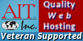 AIT Web Hosting and Domains ... Veteran Supported
