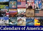 Calendars showcasing pride of America!