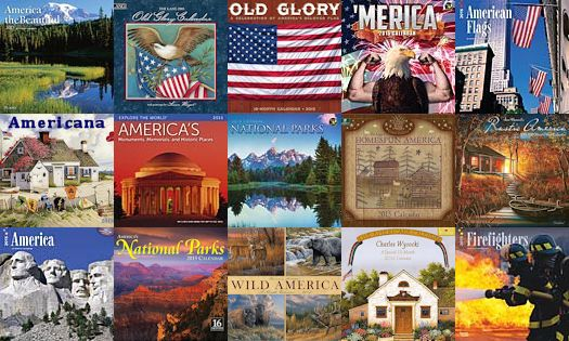 Pride of America Calendars ... click on link to see the current year's calendars that are all about pride of the USA!