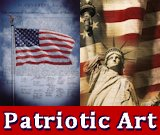 Hundreds of patriotic art, prints, and posters about pride of America including the troops.