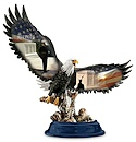 Pride Of The American Spirit Eagle Figurine