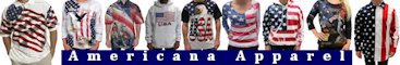 USA theme polo shirts, t-shirts, shorts, hats, caps, swimwear, sweatshirts, hoodies, hats, jackets, under garments, and other apparel items