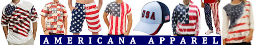 Americana Apparel ... all types of USA themed shirts, other clothing, and more!