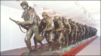 Largest War Memorial Bronze Sculpture Honors America's WWII Troops