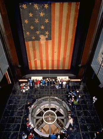 The Star-Spangled Banner at the Smithsonian