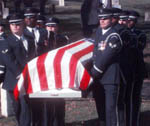 honor guard carring coffin