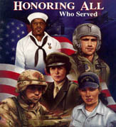 Honoring All Who Served in Military Service for the U.S.A.