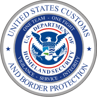 U.S. Customs and Border Protection seal