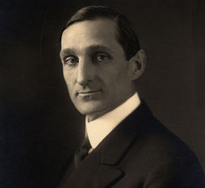 Official photograph of the U.S Secretary of Treasury, William G. McAdoo, who served during the 1917 transfer of the Coast Guard to the U.S. Navy. Photo courtesy of the Library of Congress