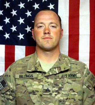 Army Sgt. Robert J. Billings, a Clarksville, Va. (Jan. 28, 2012)