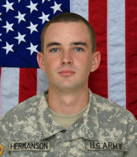 Army Staff Sgt. Matthew D. Hermanson - Bronze Star Recipient