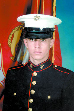 Marine Corps Lance Cpl. Christopher S. Adlesperger > For his actions on Nov. 10, 2004, Adlesperger will be posthumously awarded the Navy Cross on April 13, 2007.