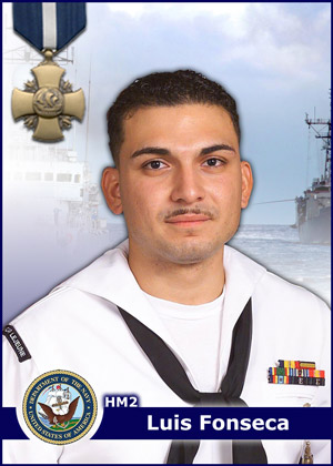 Luis Fonseca - Navy Cross Recipient