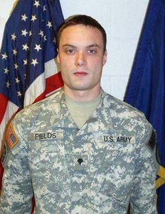 Spc. Arronn D. Fields, 27, deployed in January with the 381st Military police Company, 81st Troop Command as part of Task Force Guardian, a multi-unit police force from Indiana. Fields died May 21, 2012 as a result of injuries sustained during a rocket propelled grenade attack in Qal-ah-ye Mizzaa Jal, Afghanistan. A 2003 Northview High School graduate, Arronn enlisted in 2006.