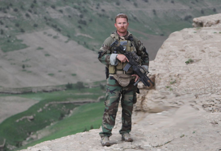 Master Sergeant Eden M. Pearl deployed with Fox Company, 2nd Marine Raider Battalion, to Herat Province, Afghanistan, in 2009. (U.S. Marine Corps courtesy photo)