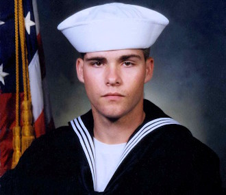 Petty Officer 3rd Class Eric Knott, 21, a member of the U.S. Navy and native of Grand Island, was killed on September 4, 2004 at Camp Fallujah in Iraq when a 122mm rocket struck just meters away from the front gate, while he was working nearby.