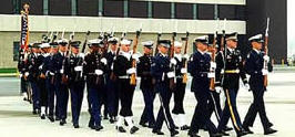The U.S. Armed Forces Honor Guard -- Photo provided by Military District of Washington