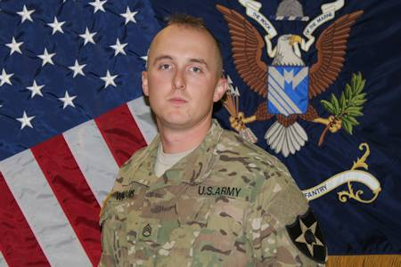 Army Staff Sgt. Wesley R. Williams, October 10, 2012 (Photo courtesy of U.S. Army)