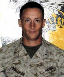USMC 1st Lt. James R. Zimmerman