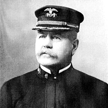 A veteran of the Civil War as a U.S. Navy officer, and the Spanish-American War as part of the U.S. Revenue Cutter Service, Frank Hamilton Newcomb served for over forty years in the U.S. sea services. (U.S. Coast Guard photo)