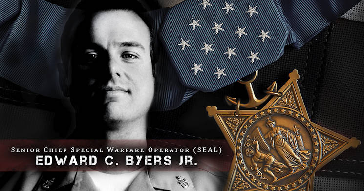 Navy Senior Chief Petty Officer Edward C. Byers Jr. - Medal of Honor Recipient