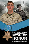 Marine Corp Sgt. Dakota Meyer,  Medal of Honor Recipient