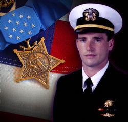 Navy SEAL Lieutenant Michael P. Murphy and his Medal of Honor