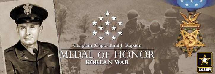 Medal of Honor Recipient Chaplain Emil J. Kapaun