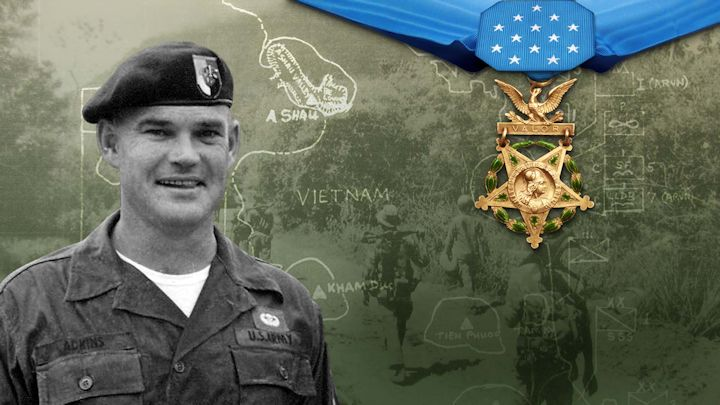 Medal of Honor Recipient Bennie G. Adkins
