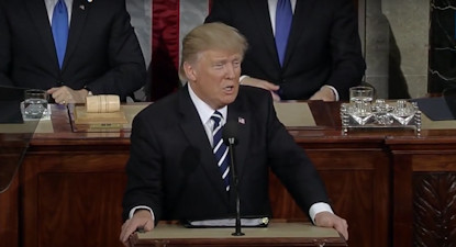 President Donald J. Trump's Address To Joint Session of Congress on February 28, 2017