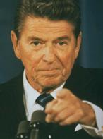 President Ronald Reagan Determined