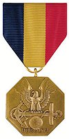 The Navy and Marine Corps Medal is the highest non-combatant medal awarded by the Department of the Navy to members of the U. S. Navy and U. S. Marine Corps.