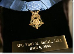 Paul R. Smith's Medal of Honor
