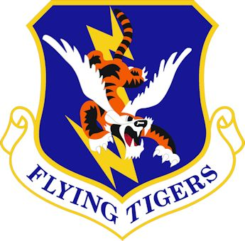 "U.S. Air Force 23rd Wing ""Flying Tigers"" emblem"