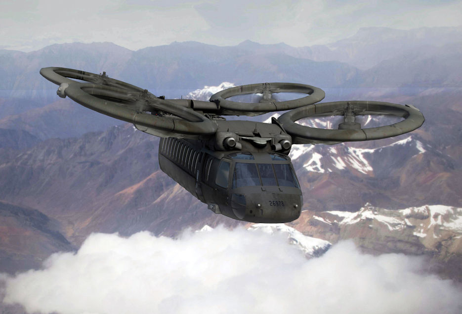 The JMR-TD is demonstrating platform and mission systems technologies to help the Army make decisions about FVL capabilities, which could look like this hypothetical rendering. The demonstrator effort is managed jointly by a team led by the U.S. Army Aviation and Missile Research, Development and Engineering Center (AMRDEC). (U.S. Army graphic by AMRDEC VizLab - January 2018)