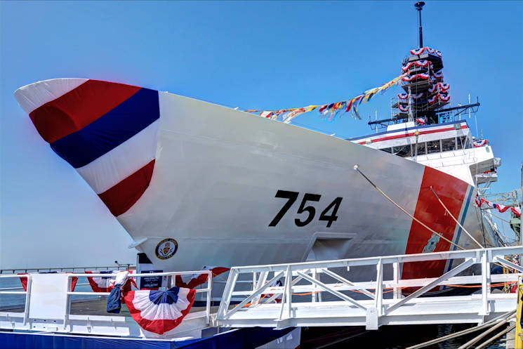 U.S. Coast Guard Cutter Joshua James, the latest National Security Cutter commissioned by the Service. (U.S. Coast Guard photo)