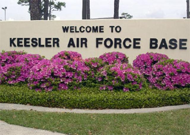Keesler Air Force Base Welcome Entry