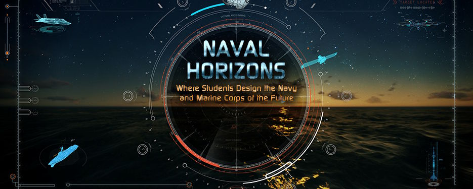 Naval Horizons, a new video educational series from the Department of the Navy's Naval STEM (science, technology, engineering, mathematics) education and outreach program. (U.S. Navy graphic Jeff Wright - October 26, 2020)