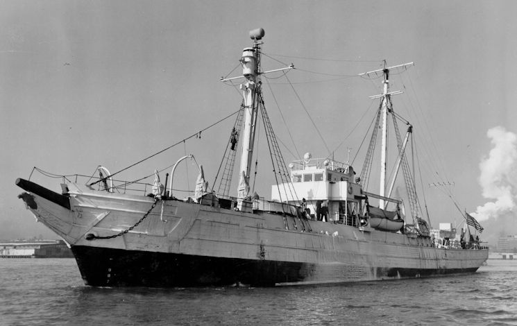 USS Bear anchored in Greenland in 1884 as part of the famous Greely Relief Expedition. U.S. Navy image. (U.S. Coast Guard courtesy photo)
