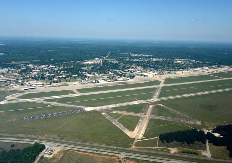 Aerial view of Shaw Air Force Base in 2015. (Courtesy photo)