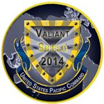 Valiant Shield 14 took place during September 2014 enabling real-world proficiency in sustaining joint forces through detecting, locating, tracking and engaging units at sea, in the air, on land, and in cyberspace in response to a range of mission areas.