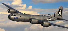 CAF's B-29 Superfortress FIFI - Photo by Scott Slocum in 2010
