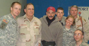 Aaron in Iraq with more troops