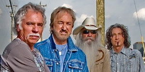 The Oak Ridge Boys (Joe Bonsall, Duane Allen, William Lee Golden, and Richard Sterban)