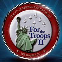 "Cover of CD ""For the Troops II"""