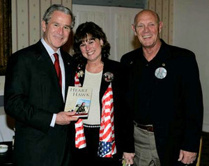 President George W. Bush with Deb and Dave Tainsh