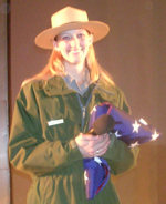 Sommar Chaffee, Mount Rushmore Park Ranger